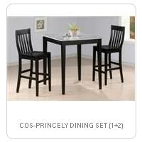 COS-PRINCELY DINING SET (1+2)